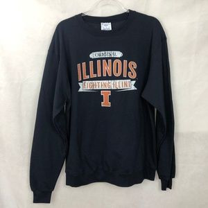 New Champion ECO University Of Illinois Sweatshirt